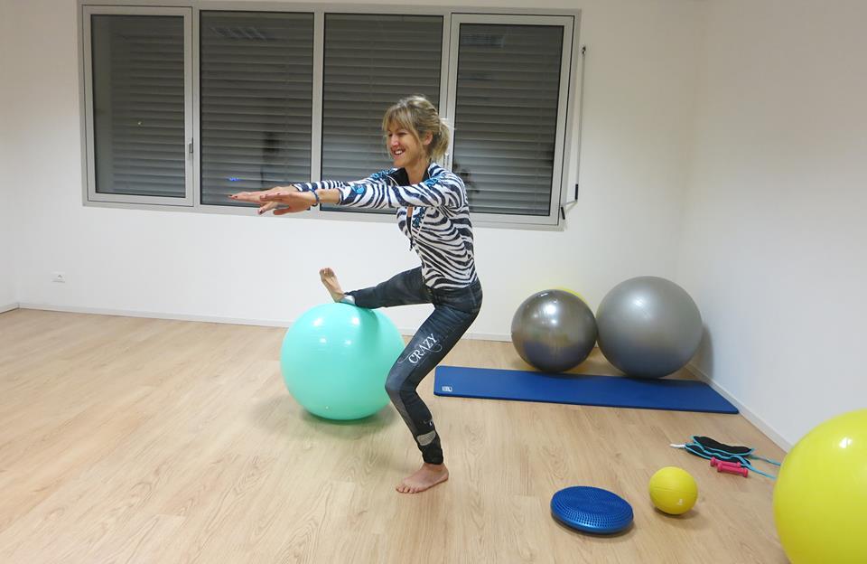 squat su pallone 2